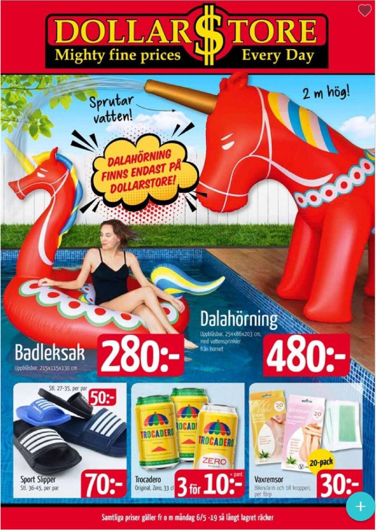 54b9a961f8e9 Dollarstore Aktuell annons 06/05 - 19/05-2019 - veckovis-reklamblad.se