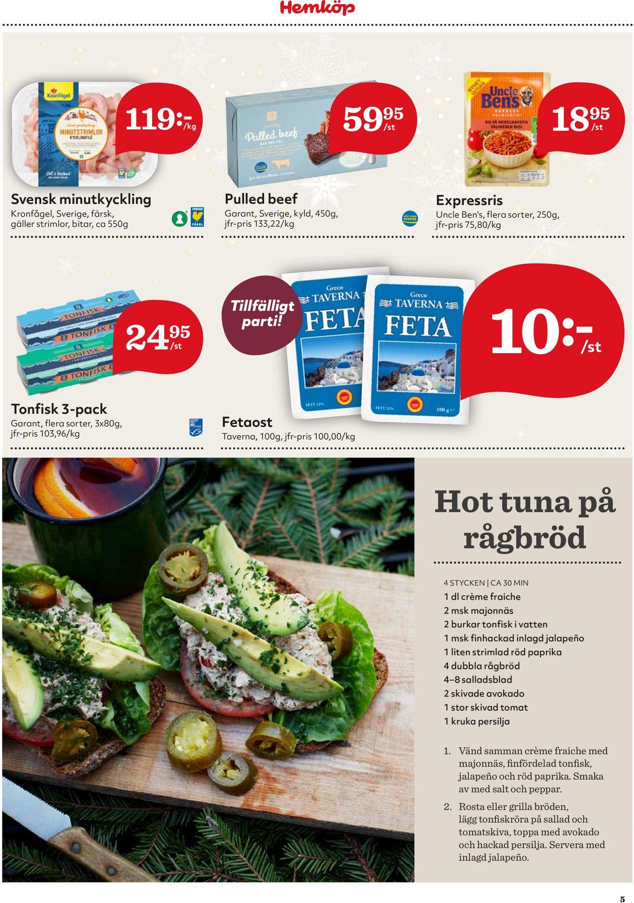 Reklamblad Hemköp - Cyber Monday från 30/11-2020
