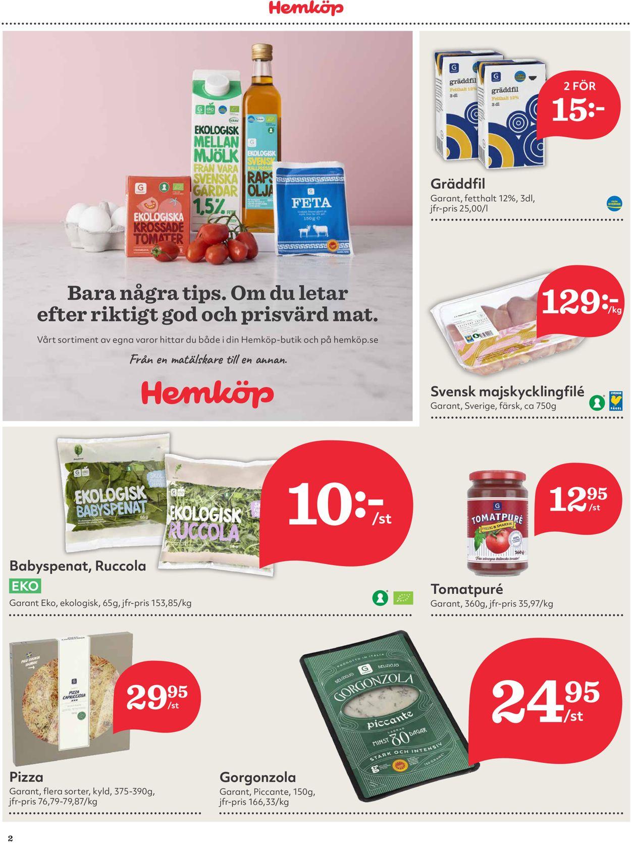 Reklamblad Hemköp från 08/03-2021