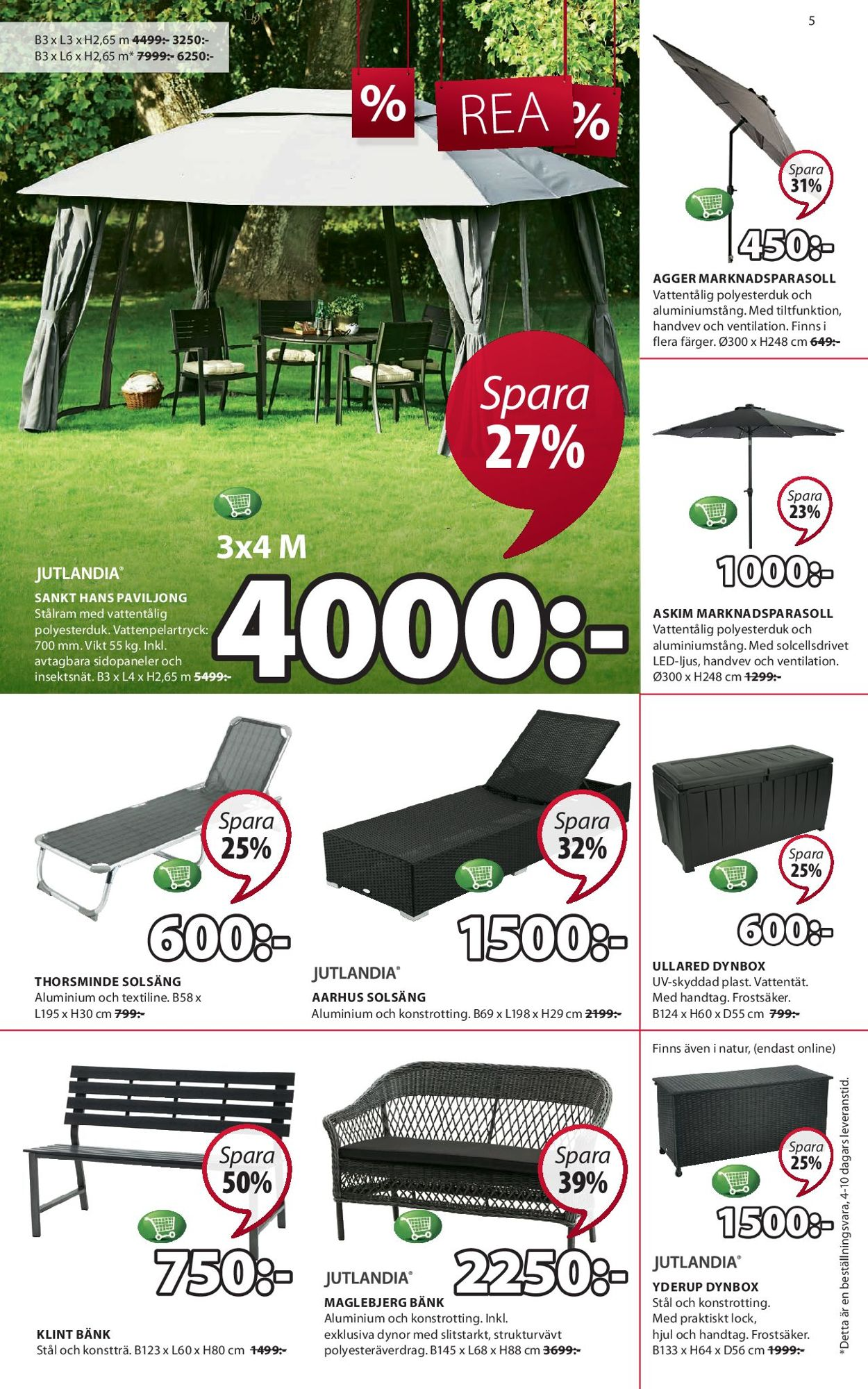 Jysk Aktuell annons 30/06 - 13/07-2019 [5] - veckovis