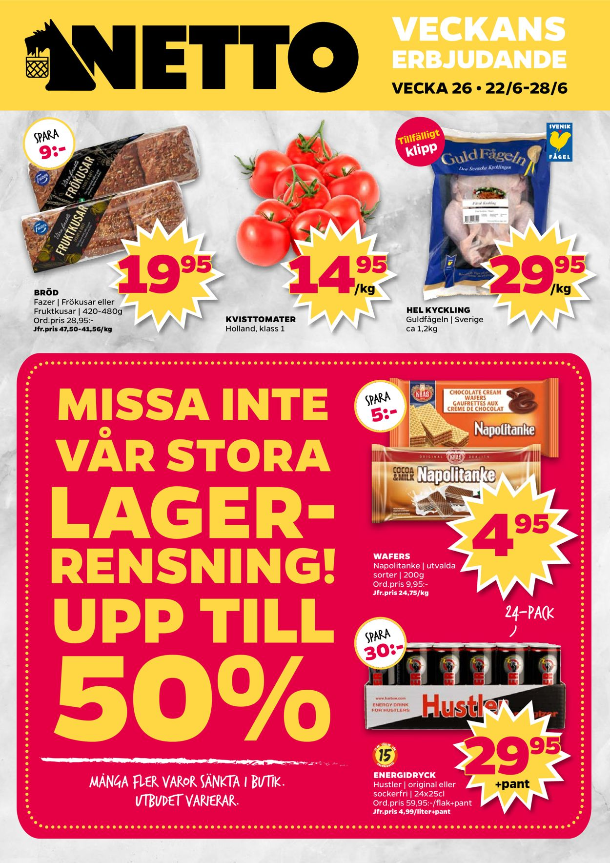 Netto reklamblad