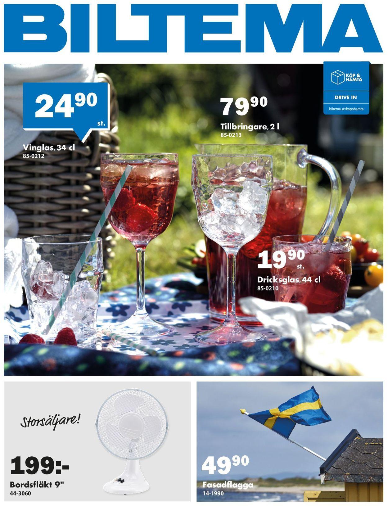 Reklamblad Biltema från 25/05-2020