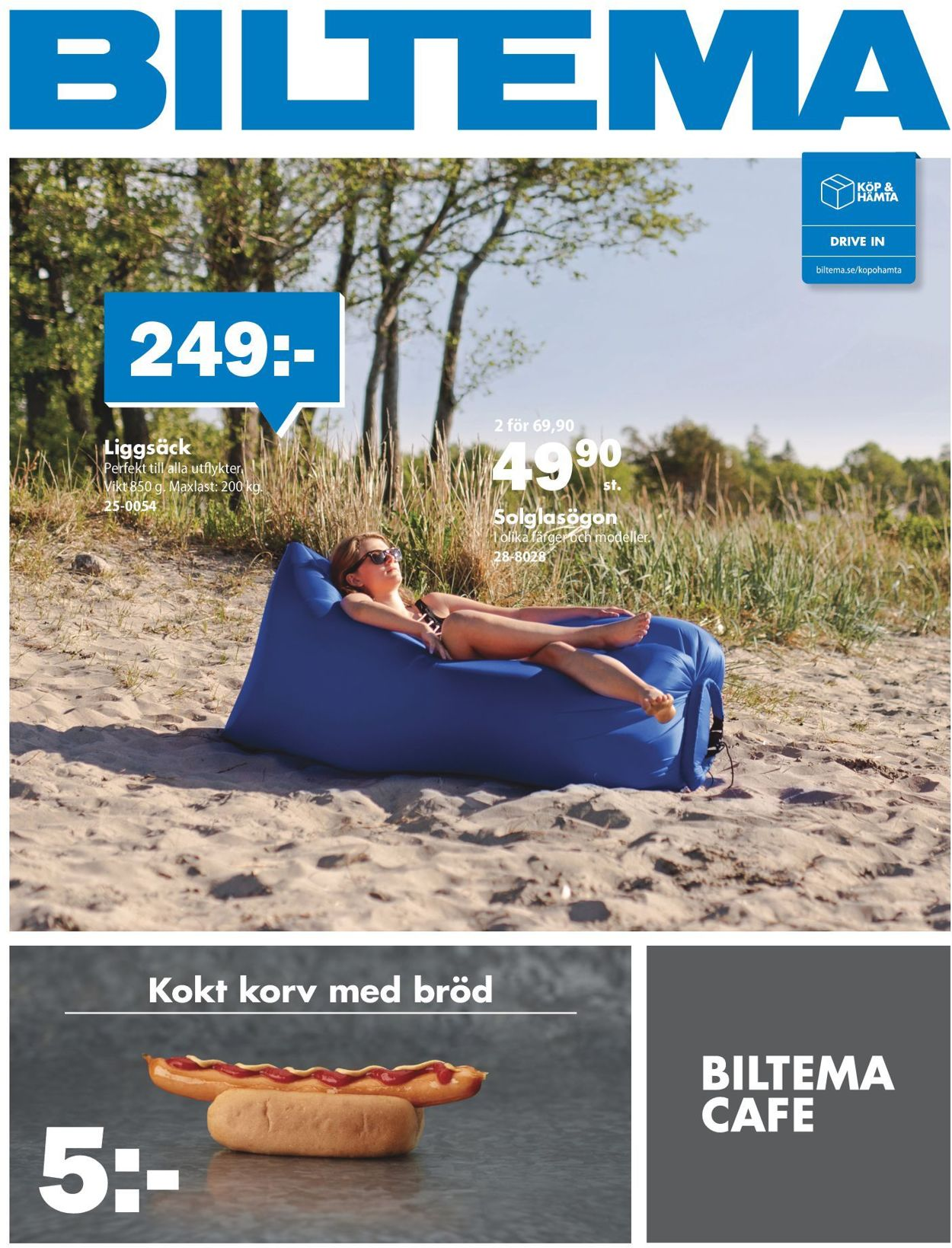 Reklamblad Biltema från 13/07-2020