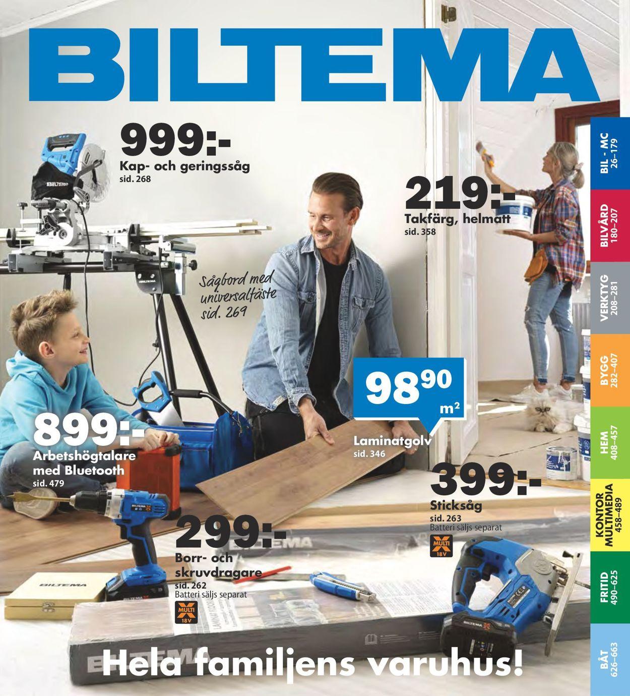 Reklamblad Biltema från 01/08-2020