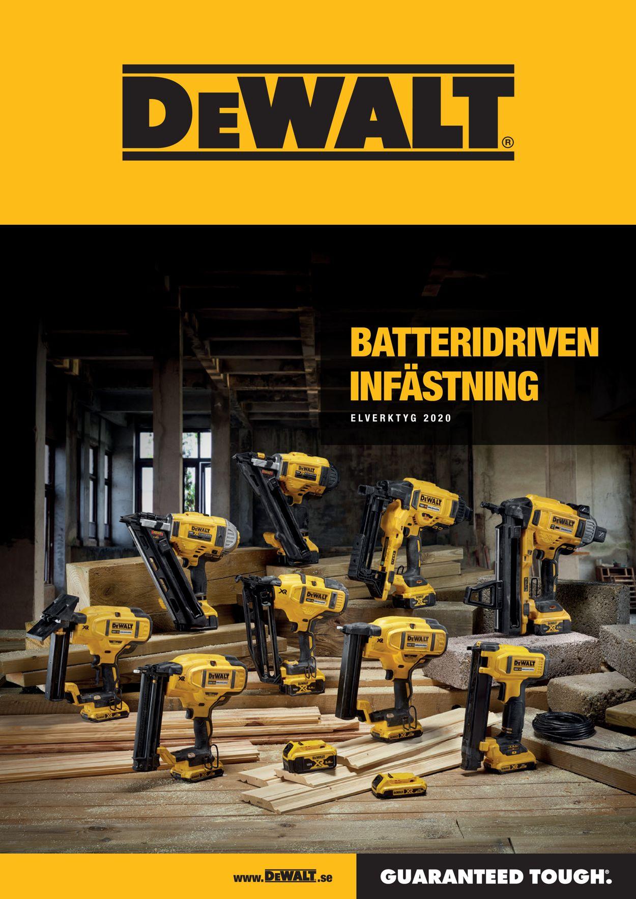Reklamblad DeWALT från 01/09-2020