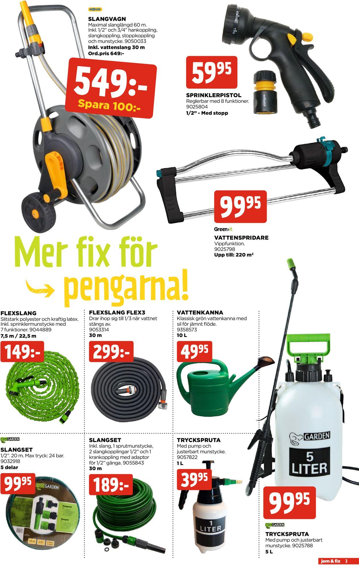 Reklamblad Jem & Fix från 19/04-2021