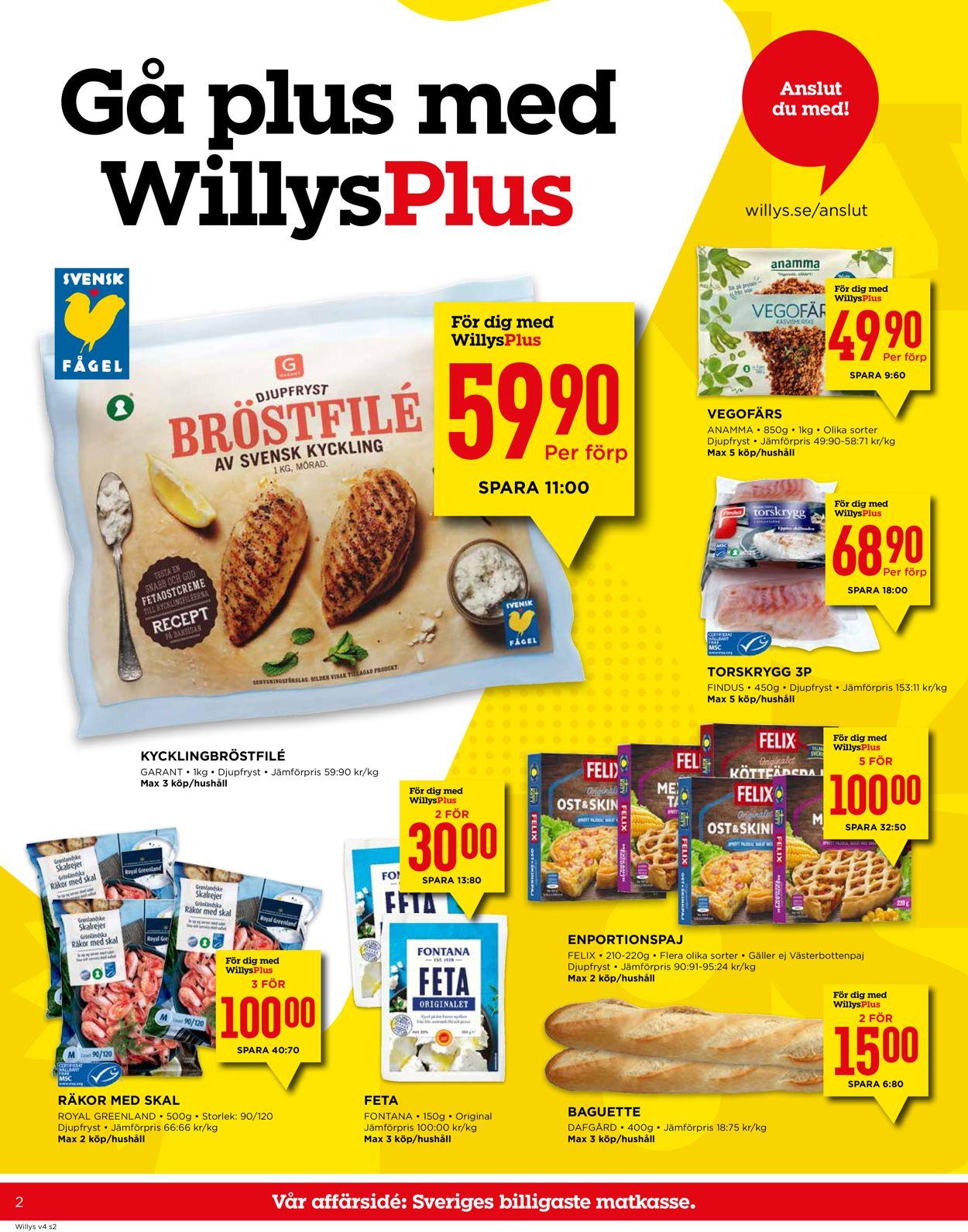 Reklamblad WiLLY:S från 20/01-2020