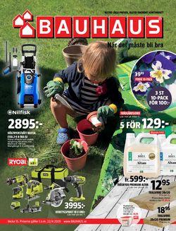Reklamblad Bauhaus från 06/04-2020
