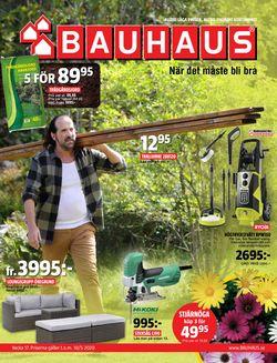 Reklamblad Bauhaus från 23/04-2020
