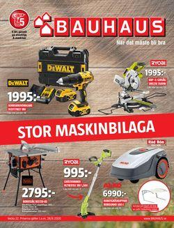 Reklamblad Bauhaus från 25/05-2020
