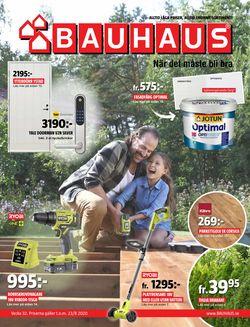 Reklamblad Bauhaus från 03/08-2020