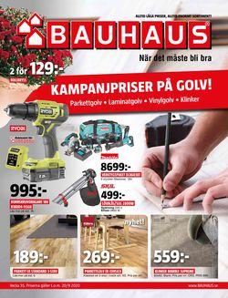 Reklamblad Bauhaus från 24/08-2020