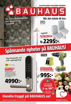 Aktuell annons Bauhaus