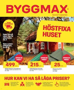 Aktuell annons ByggMax