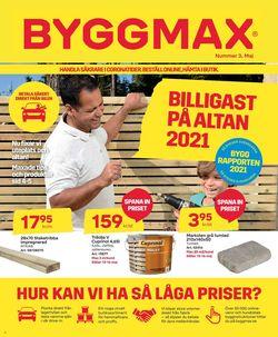 Reklamblad ByggMax från 07/05-2021