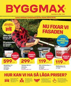 Reklamblad ByggMax från 28/05-2021