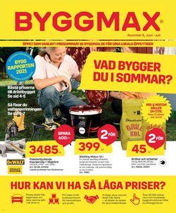 Reklamblad ByggMax från 18/06-2021