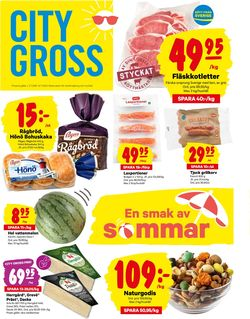 Reklamblad City Gross från 29/06-2020