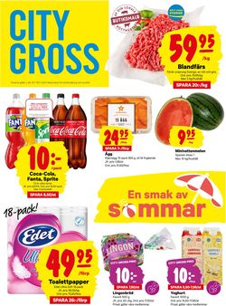 Reklamblad City Gross från 13/07-2020