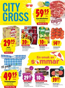 Reklamblad City Gross från 27/07-2020
