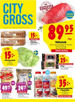 Reklamblad City Gross från 31/08-2020