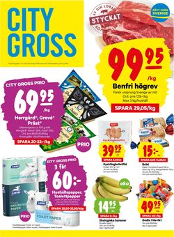 Reklamblad City Gross från 07/09-2020