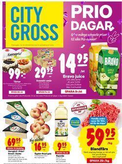 Reklamblad City Gross från 14/09-2020