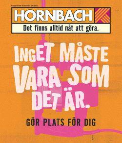 Aktuell annons Hornbach
