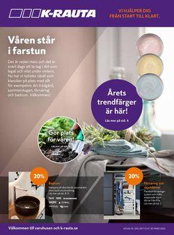Reklamblad K-Rauta från 06/03-2020