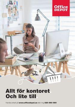 Aktuell annons Office Depot