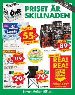 Reklamblad ÖoB från 22/06-2020
