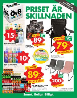 Reklamblad ÖoB från 06/07-2020