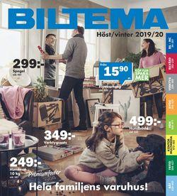 Reklamblad Biltema från 18/08-2019