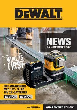 Reklamblad DeWALT från 21/05-2021