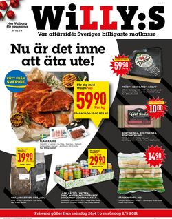 Reklamblad WiLLY:S från 26/04-2021