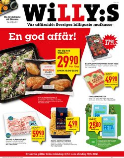 Reklamblad WiLLY:S från 03/05-2021