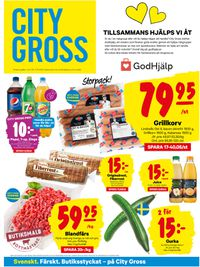 Reklamblad City Gross från 11/05-2020