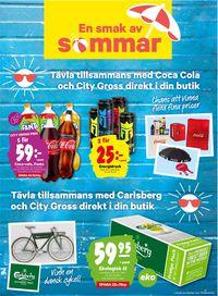 Reklamblad City Gross från 15/06-2020