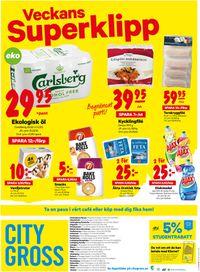 Reklamblad City Gross från 13/07-2020
