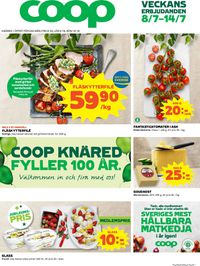 Reklamblad Coop från 08/07-2019