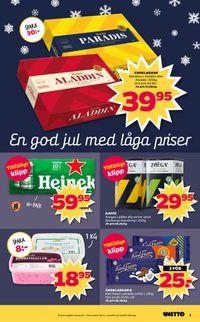 Reklamblad Aktuell annons Netto Julen 2019 från 25/11-2019